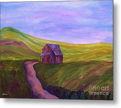 Blue Skies In The Hill Country Metal Print by Eloise Schneider