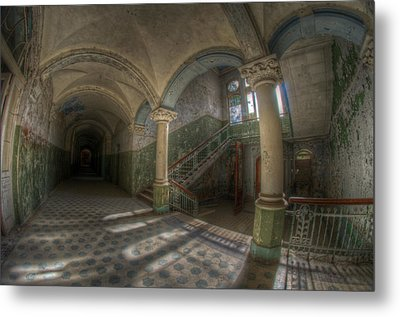 Blue Staircase Of Beauty Metal Print by Nathan Wright
