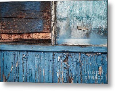 Blue Turns To Grey Metal Print by Dean Harte