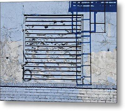 Blue Wall Metal Print by Sarah Loft