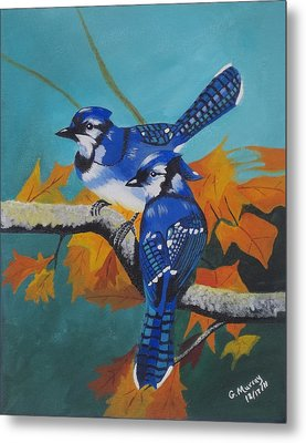 Blues Hangout Metal Print by Gregory Murray