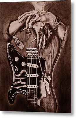 Blues Legend Metal Print by Art Imago