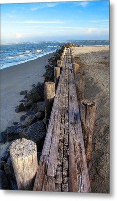 Boardwalk - Charleston Sc Metal Print by Drew Castelhano