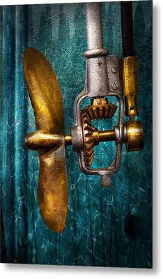 Boat - Propulsion  Metal Print by Mike Savad