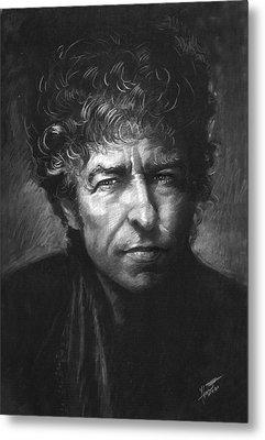 Bob Dylan Metal Print by Viola El