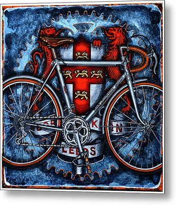 Bob Jackson Metal Print by Mark Howard Jones