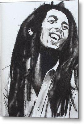 Bob Marley Metal Print by Aaron Balderas
