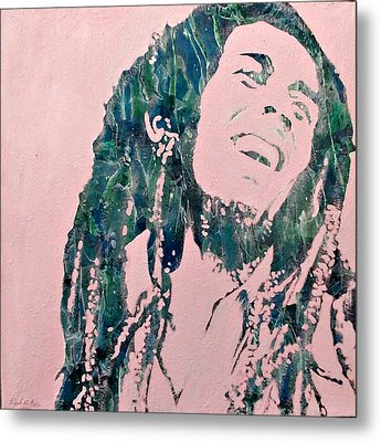 Metal Print featuring the painting Bob by Pasquale Di maso