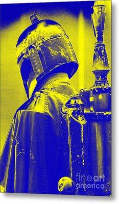 Boba Fett Costume 1 Metal Print by Micah May