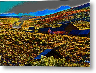 Bodie Sunset Metal Print by Joseph Coulombe