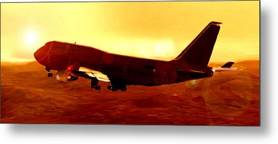 Boeing Beauty Metal Print by Marcello Cicchini
