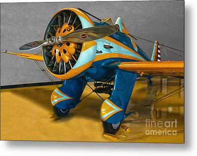 Boeing Peashooter P-26a  -  02 Metal Print by Gregory Dyer