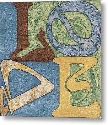 Bohemian Love Metal Print by Debbie DeWitt