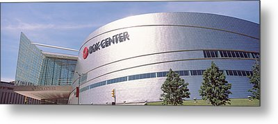 Bok Center At Downtown Tulsa, Oklahoma Metal Print by Panoramic Images