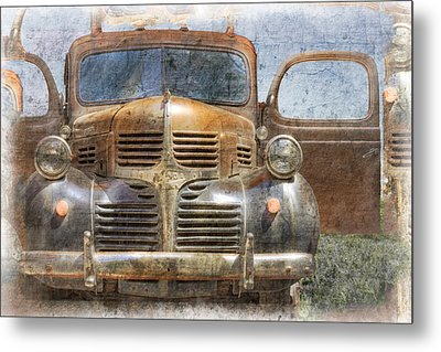 Bonnie And Clyde Metal Print by Debra and Dave Vanderlaan