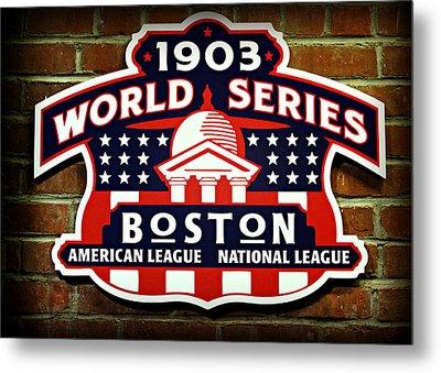 Boston Americans 1903 World Champions Metal Print by Stephen Stookey