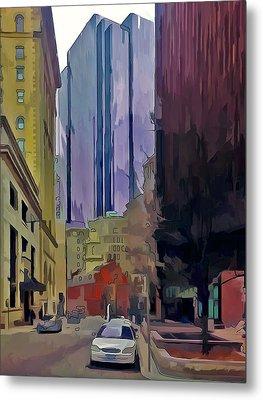 Boston City Centre 2 Metal Print by Yury Malkov