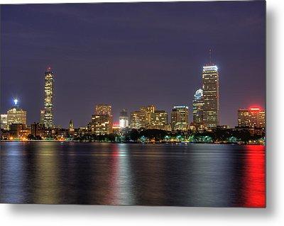 Boston From Memorial Drive Metal Print by Joann Vitali