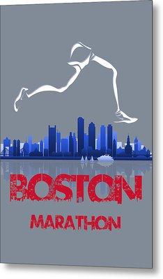 Boston Marathon3 Metal Print by Joe Hamilton