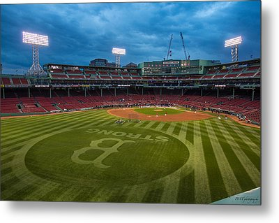 Boston Strong Metal Print by Paul Treseler