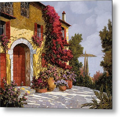 Bouganville Metal Print by Guido Borelli