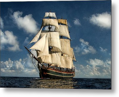Bounty Making Way Metal Print by Peter Chilelli