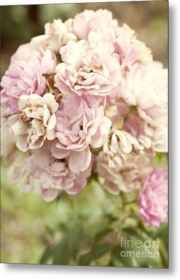 Bouquet Of Vintage Roses Metal Print by Juli Scalzi