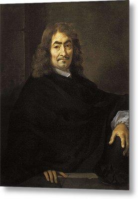 Bourdon, S�bastien 1616-1671. Portrait Metal Print by Everett
