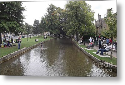 Bourton On The Water Metal Print by John Williams