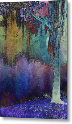 Bouyant Reflections Metal Print by Jan Amiss Photography