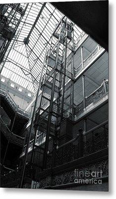 Bradbury Building Metal Print by Gregory Dyer