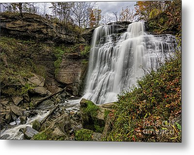 Brandywine Falls Metal Print by James Dean