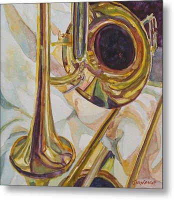 Brass At Rest Metal Print by Jenny Armitage