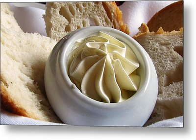 Bread And Butter Metal Print by Jennifer Wheatley Wolf