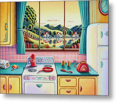 Breakfast Of Champions Metal Print by Andy Russell