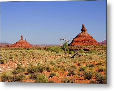 Breathtaking Valley Of The Gods Metal Print by Christine Till
