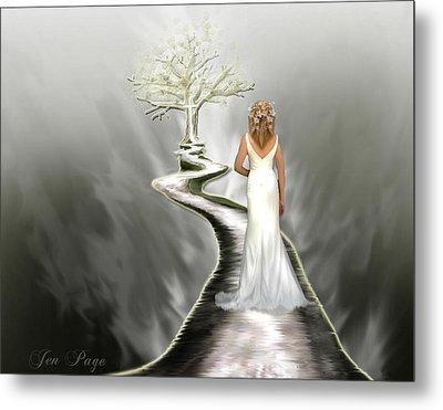 Bride Of Christ Metal Print by Jennifer Page
