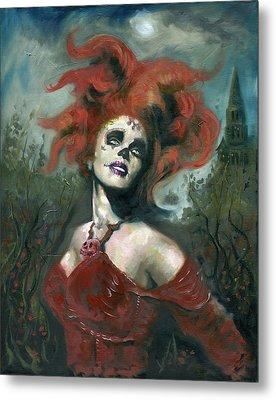 Bride Of The Dead Metal Print by Luis  Navarro