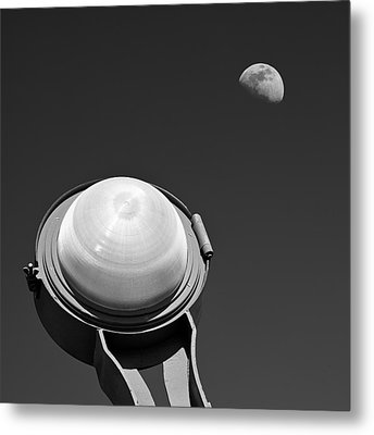 Bridge Light Metal Print by Dave Bowman