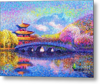 Bridge Of Dreams Metal Print by Jane Small