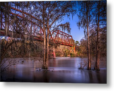 Bridge Over Trouble Water Metal Print by Marvin Spates