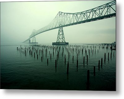 Bridge To Nowhere Metal Print by Todd Klassy