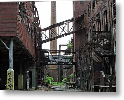 Bridgeport 2 Metal Print by Steve Breslow