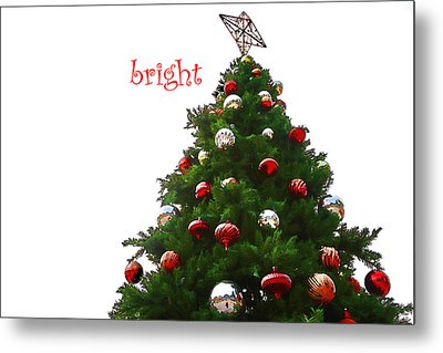 Bright Metal Print by Audreen Gieger-Hawkins