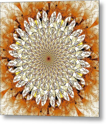Bright Flower Metal Print by Anastasiya Malakhova