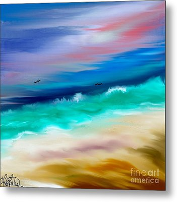 Brighter Days Metal Print by Lori  Lovetere