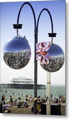 Brighton With Pride Metal Print by Max CALLENDER