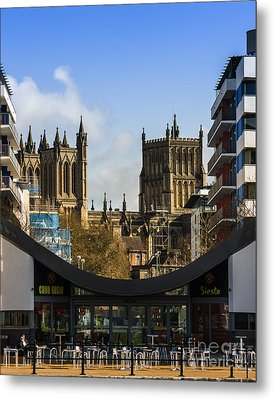 Bristol Cathederal Metal Print by Brian Roscorla