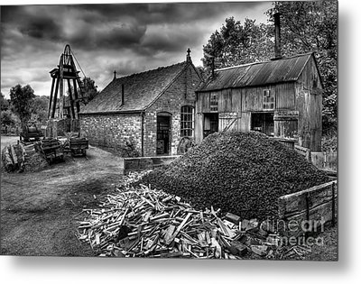 British Mine Metal Print by Adrian Evans