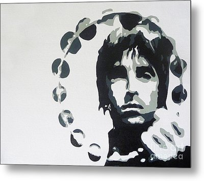Britpop Metal Print by ID Goodall